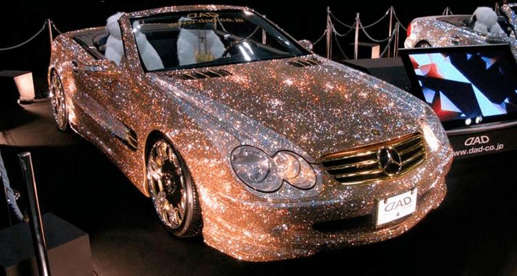 Diamond plated cars Rich Billionaires
