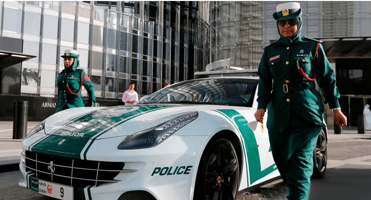 Ferrari Police Car dubai
