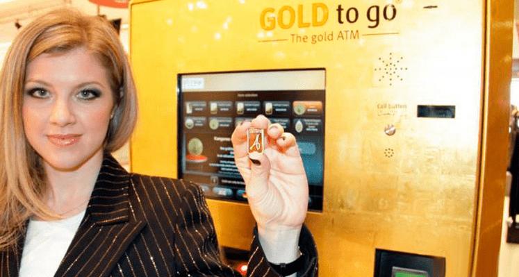 Gold Vending machine in Dubai - United Arab Emirates