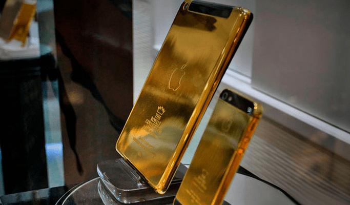 gold-plated Iphone - Ipad Dubai hotels