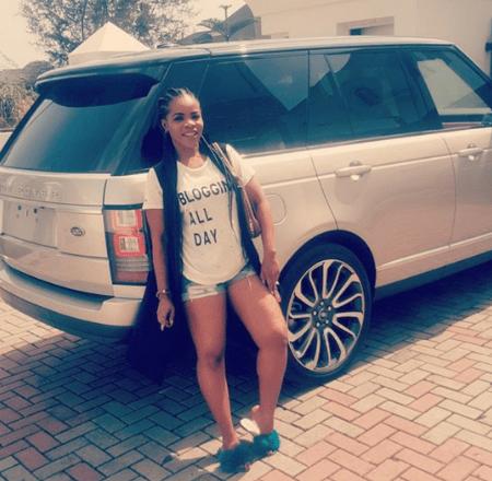 Laura Ikeji Linda Ikeji Range Rover Autobiography